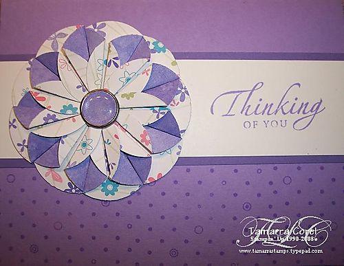 Daliah fold Card