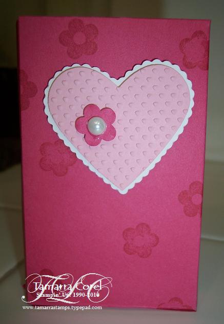 Conversation hearts box